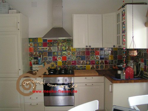 mexican tiles - for the citchen