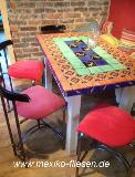 Gefliester Tisch