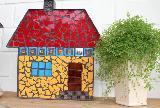 Mosaik-Haus mango