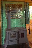 Feuerschutzwand im Holzhaus
