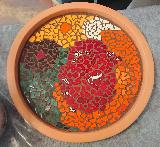 Gecko Schale Mosaik