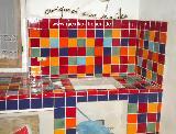 Knallbunte Küche 01