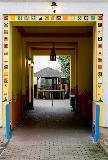 Eingang Torbogen