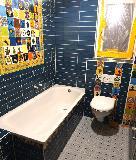 Badezimmer gemischter Stil