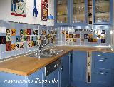 Küche in hellblau / agua 04