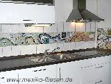 Küchenbordüre - Mosaik