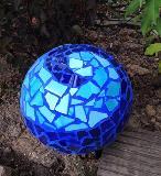 Kugel blau in blau