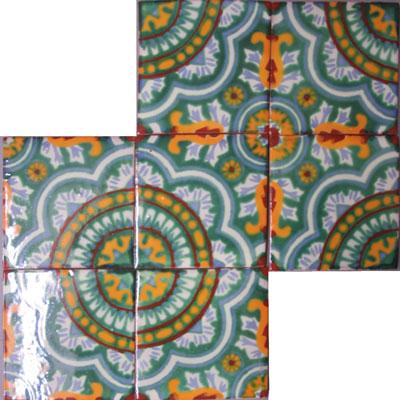 Vintage Fliese Rosario Verde