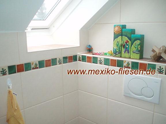 Badezimmerfliesen bei Mexiko-Fliesen.de