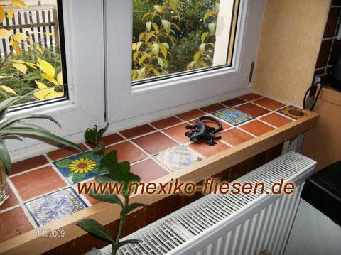 Fensterbank Fliesen mexiko fliesen de mexiko fliesen shop